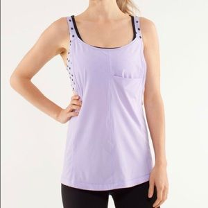 lululemon Run For Your Money Purple Tank